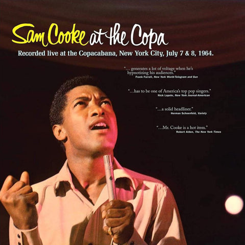 COOKE, SAM: AT THE COPA (1964) 2020 REISSUE VINYL LP
