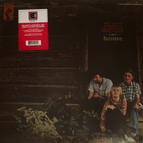 DELANEY & BONNIE , HOME (2019) LP REMASTERED 180 GRAM VINYL  1969