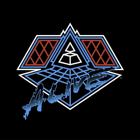 DAFT PUNK : ALIVE 2007 (2007) 2LP 2017 REPRESS