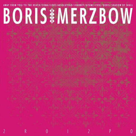 BORIS WITH MERZBOW: 2R012P0 (2020) CD // / 2LP
