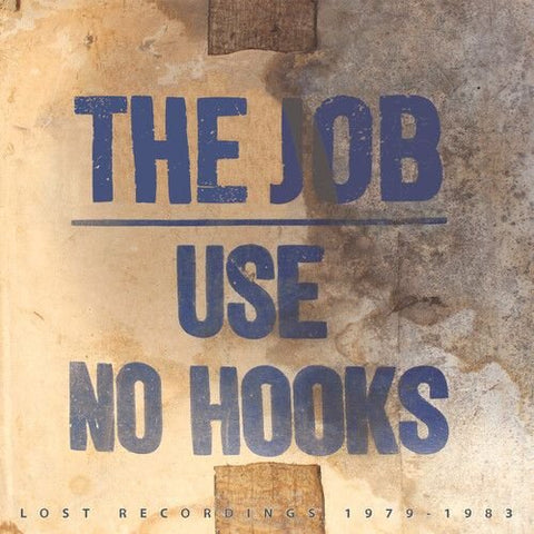 USE NO HOOKS: DO THE JOB (LOST RECORDINGS 1979 - 1983) (2020) LP LIMITED EDITION BLUE VINYL