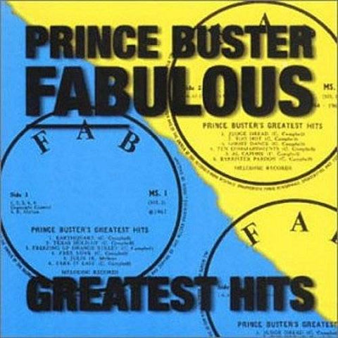 PRINCE BUSTER: FABULOUS - GREATEST HITS USED CD