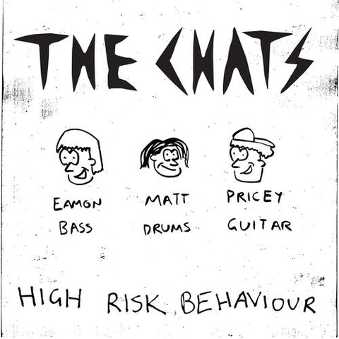 CHATS, THE : HIGH RISK BEHAVIOUR (2020) CD & LP LIMITED COLOR VINYL