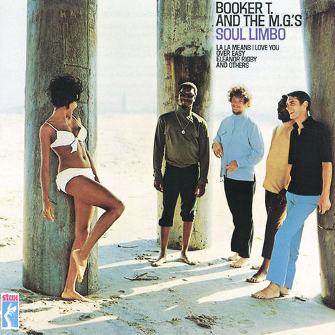 BOOKER T & THE MGS: SOUL LIMBO (1968) 2012 LP REISSUE