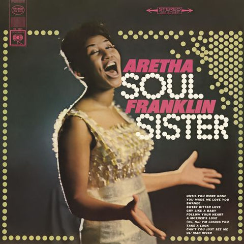 FRANKLIN, ARETHA : SOUL SISTER (1966) LP 2012 REMASTERED STEREO REISSUE