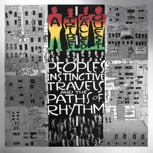 A TRIBE CALLED QUEST : PEOPLE'S INSTINCTIVE TRAVELS AND THE PATHS OF RHYTHM (2015) REMASTERED , EXPANDED RE ISSUE IN GATEFOLD SLEEVE OF TRIBES 1990 DEBUT