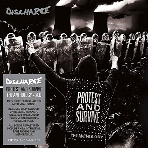 DISCHARGE : PROTEST AND SURVIVE - THE ANTHOLOGY (2020) 2CD &  2LP