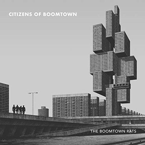 BOOMTOWN RATS, THE : CITIZENS OF BOOMTOWN (2020) CD /  LP LIMITED EDITION GOLD VINYL