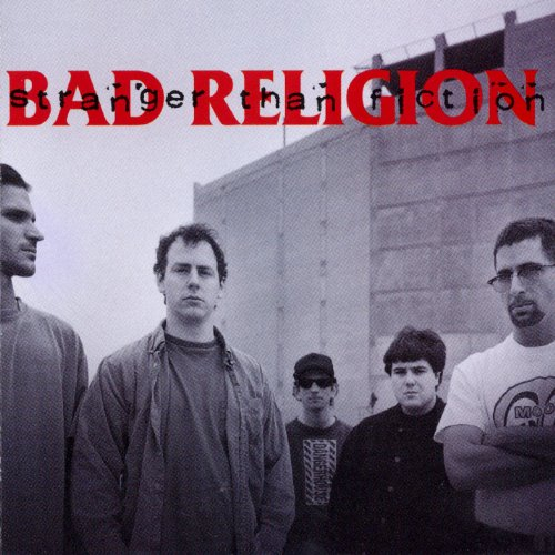 BAD RELIGION : STRANGER THAN FICTION (1994) LP 2018 REISSUE
