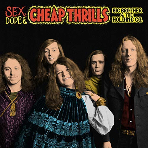 BIG BROTHER AND THE HOLDING COMPANY : SEX, DOPE & CHEAP THRILLS (1968) 2CD / 2LP DELUXE REISSUE GATEFOLD SLEEVE