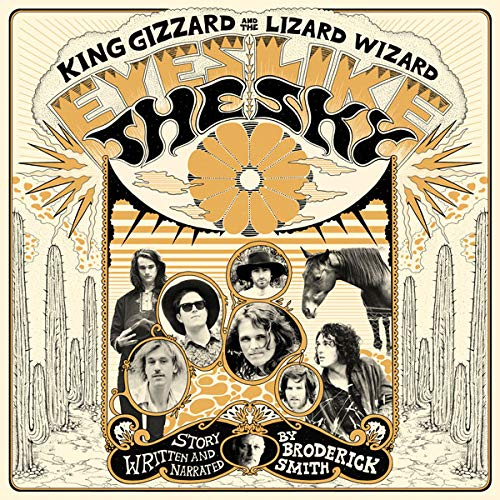 KING GIZZARD & THE LIZARD WIZARD : EYES LIKE THE SKY (2018) LP LIMITED EDITION ORANGE VINYL