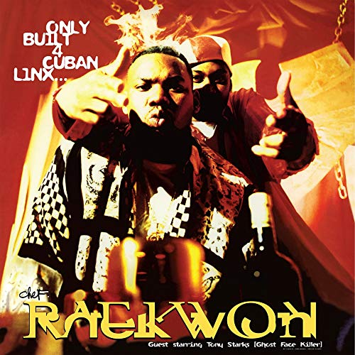 RAEKWON : ONLY BUILT 4 CUBAN LINX (2016) DOUBLE 180 GRAM RE ISSUE OF 1995 WU BANGER. PLAY LOUD