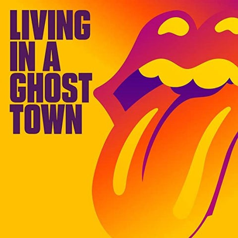 "ROLLING STONES, THE: LIVING IN A GHOST TOWN (10"" VINYL SINGLE)"
