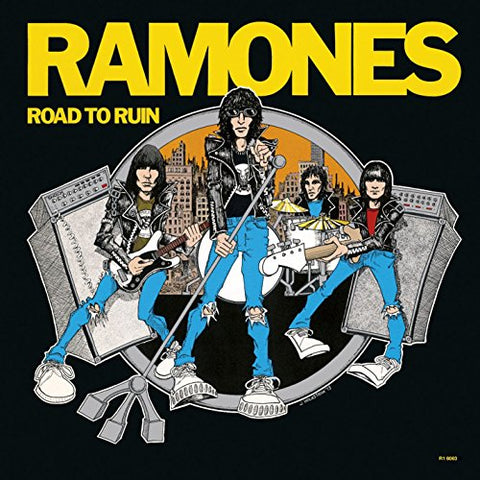 RAMONES: ROAD TO RUIN (BLUE VINYL)