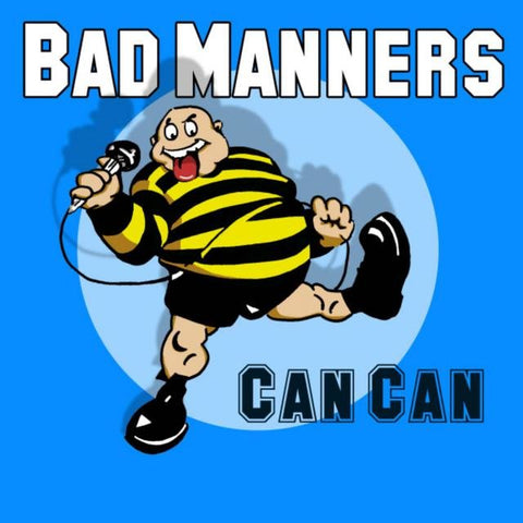 BAD MANNERS: CAN CAN (LIVE ALBUM) USED CD