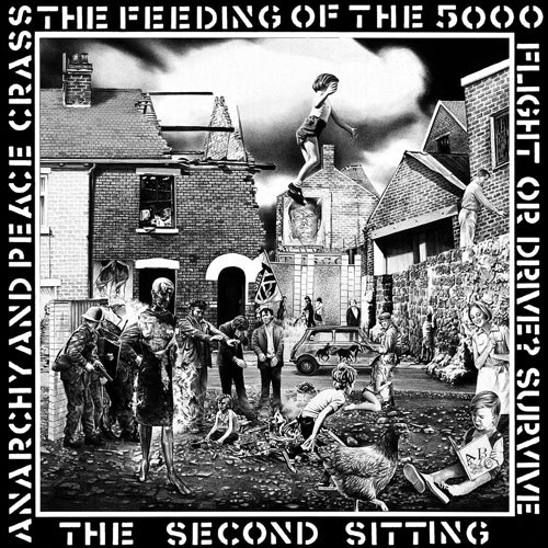 CRASS : FEEDING OF THE 5000 (1979) LP 2019 REMASTERED REISSUE