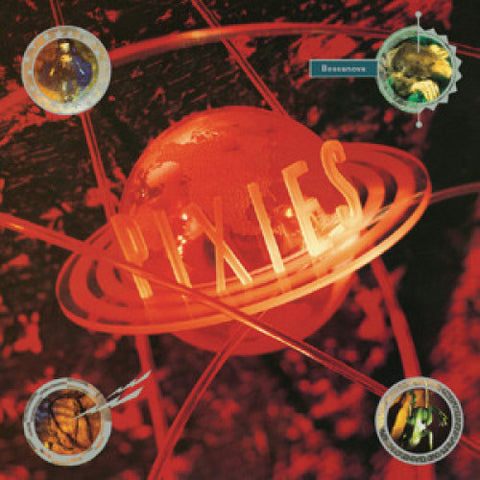 PIXIES: BOSSA NOVA (1990) 2020 LP REISSUE RED VINYL