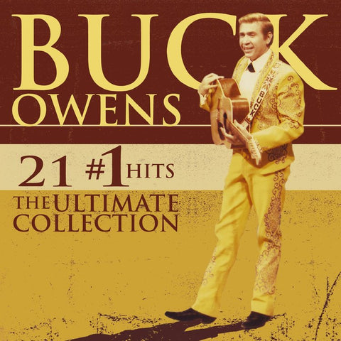 OWENS, BUCK: 21 #1 HITS - THE ULTIMATE COLLECTION USED CD
