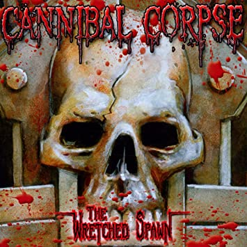 CANNIBAL CORPSE: THE WRETCHED SPAWN (CD/DVD) USED CD