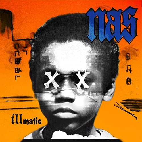 NAS : ILLMATIC XX (2014) REMASTERED RE ISSUE OF 1994'S GAME CHANGER , MCING WENT TO A NEW LEVEL . LP 180 GRAM