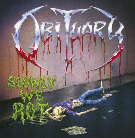 OBITUARY: SLOWLY WE ROT (WITH BONUS TRACKS) USED CD