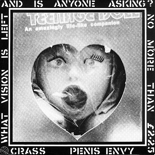 CRASS : PENIS ENVY (1981) LP 2019 REMASTERED REISSUE