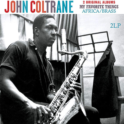 COLTRANE, JOHN  : MY FAVORITE THINGS / AFRICA BRASS (1961) 2LP 2013 2 ORIGINAL ALBUMS IN GATEFOLD SLEEVE