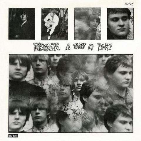 PRISONERS, THE : A TASTE OF PINK (1982) LP 2013 REISSUE