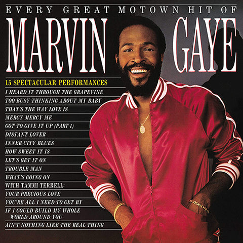 GAYE, MARVIN: EVERY GREAT MOTOWN HIT OF (1985) 2020 LP REISSUE COMPILATION