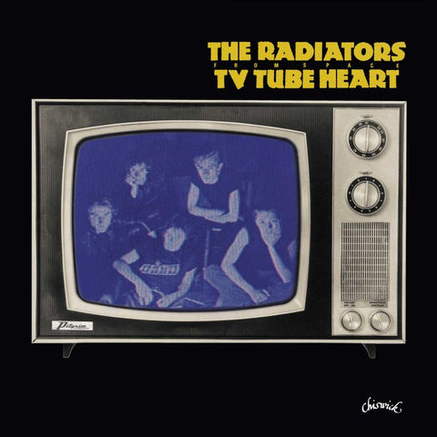 RADIATORS FROM SPACE, THE: TV TUBE HEART (1977) 2021 10'' REISSUE