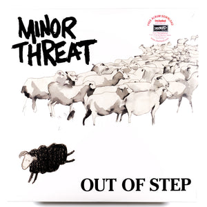 MINOR THREAT : OUT OF STEP (1983) LP 2007 REISSUE