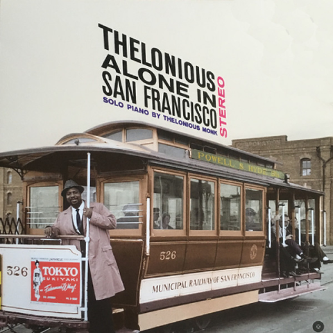 MONK, THELONIOUS: ALONE IN SAN FRANCISCO SOLO PIANO (1959) 2017 REISSUE LP