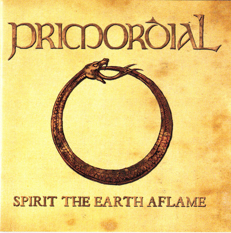 PRIMORDIAL: SPIRIT THE EARTH AFLAME USED CD