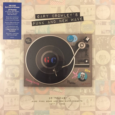 V/A: GARY CROWLEY'S PUNK AND NEW WAVE (2017) VINYL 2LP