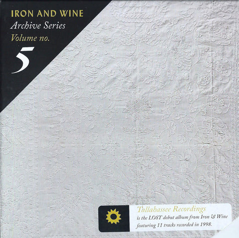 IRON AND WINE: ARCHIVE SERIES VOLUME 5 CD /// LP