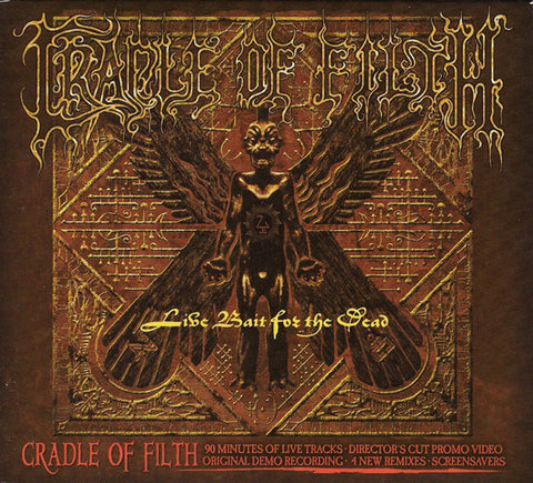 CRADLE OF FILTH: LIVE BAIT FOR THE DEAD (2CD) USED CD