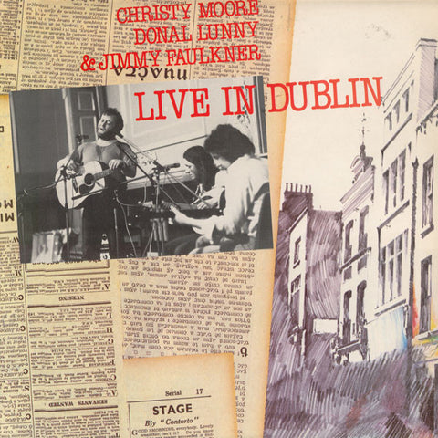 MOORE, CHRISTY: LIVE IN DUBLIN (1978) 2020 VINYL LP REISSUE