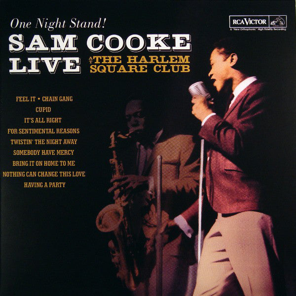 SAM COOKE: SAM COOKE LIVE AT THE HARLEM SQUARE CLUB (ONE NIGHT STAND!) LP