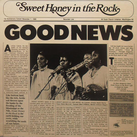 SWEET HONEY IN THE ROCK: GOOD NEWS USED CD
