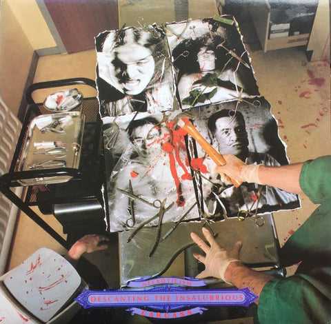 CARCASS: NECROTICISM - DESCANTING THE INSALUBRIOUS (1991) 2020 LP REISSUE