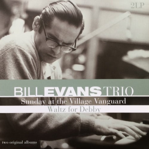 EVANS, BILL TRIO, THE : SUNDAY AT THE VILLAGE VANGUARD & WALTZ FOR DEBBY (2014)2LP  2 ORIGINAL ALBUMS IN GATEFOLD SLEEVE