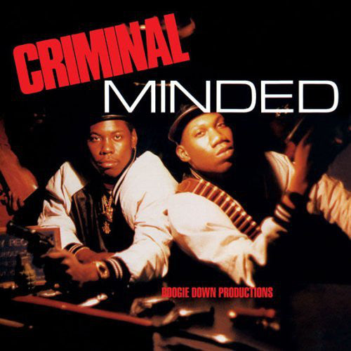 BOOGIE DOWN PRODUCTIONS : CRIMINAL MINDED (2016) REMASTERED DOUBLE 180 GRAM LP RE ISSUE OF 1987 DEBUT