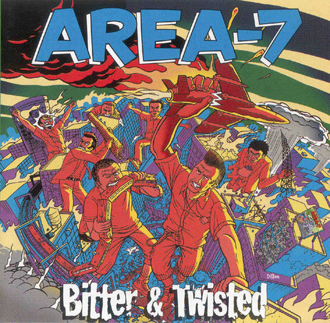 AREA-7: BITTER & TWISTED USED CD