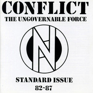 CONFLICT : STANDARD ISSUE 82 - 87 (1989) LP 2019 REISSUE