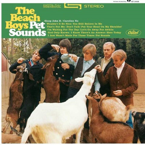 BEACH BOYS, THE: PET SOUNDS (STEREO)