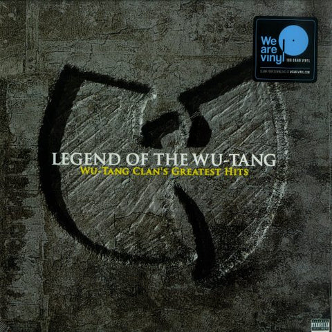 WU-TANG CLAN : LEGEND OF THE WU-TANG: WU-TANG CLAN'S GREATEST HITS (2019) LEGACY 180 GRAM 2XLP PRESSING