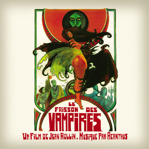 ACANTHUS: LE FRISSON DES VAMPIRES OST (1971) 2020 COLOURED VINYL LP REISSUE