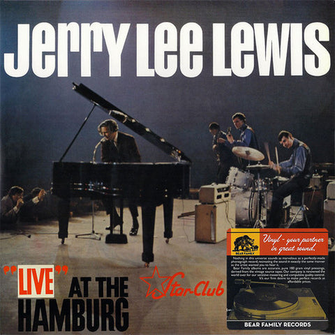 LEE LEWIS, JERRY: LIVE AT THE STAR CLUB HAMBURG (1964) 2010 REISSUE