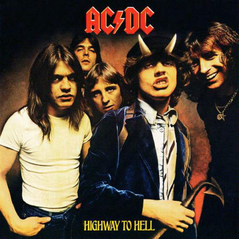 AC/DC : HIGHWAY TO HELL (1979) LP 2009 REISSUE