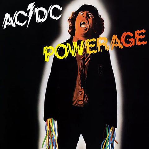 AC/DC : POWERAGE (1978) LP 2009 REMASTERED REISSUE 180 GRAM VINYL